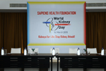 Launch of video on Acute Kidney Injury (AKI) on World Kidney Day 2013 by Actor. Arvind Swamy
